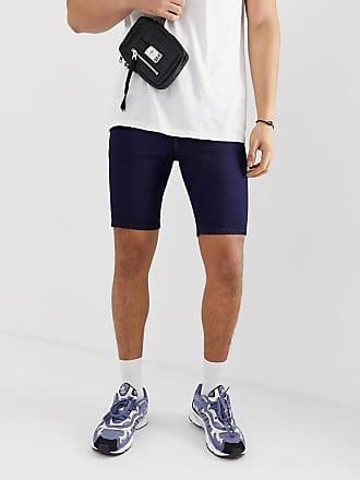 Azul De Añil Efecto Vaqueros Con Shorts Design Asos En Elásticos Espray xFq0pwz8