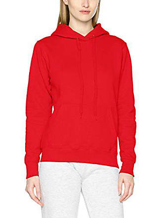 The Damen Classic Rotred 400X Loom Fruit Hooded fit Sweat Lady Of large Kapuzenpullover kPOZuXi