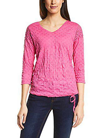 311926 11272 Pink Femme T shirt Manches flamingo Longues Rose 44 One Street qv5wUfH