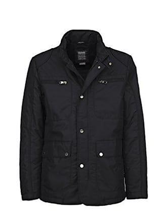 Manteau Noir Geox Jacket Man Homme taille black Fabricant Small qwSEI