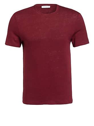 Leinen shirt Dunkelrot T Sandro Aus wZ8tB