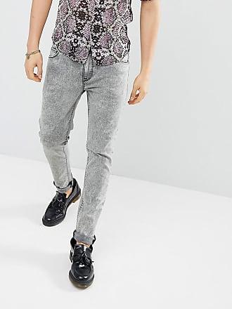 Lacide Asos Gris à Délavé Skinny Jean wYYqIC