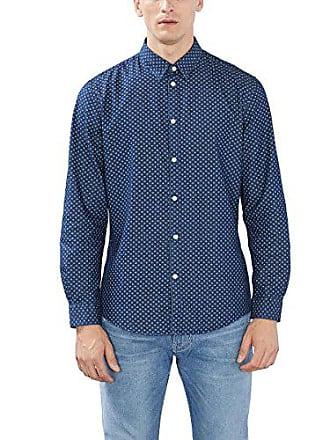 Del Camisa 41 086eo2f014 Cuello Azul Fabricante 41 Tamaño Esprit Cm navy talla Hombre 6HS4aq