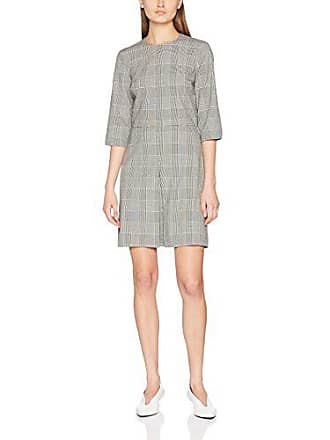 99 multi Mujer Para Warehouse Pleat Checked Box Mono 34 Vestido 1q8P01