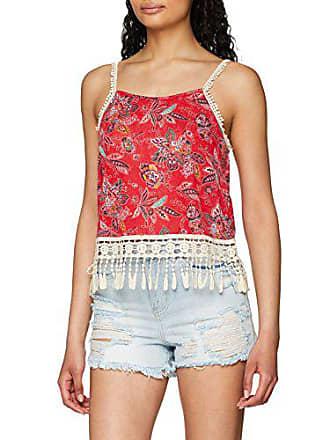 Springfield small xs Rojo Camiseta 9983902 Fabricante tamaño Del gama Mujer Rojos X Para rw7r4x81q