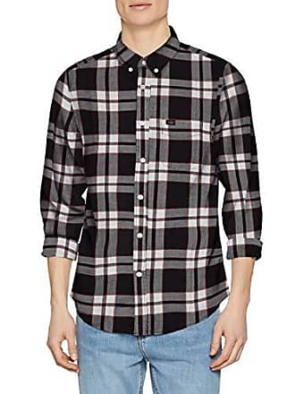 Camisa Marfil 01 Hombre Para large Lee Xx Down black Button 0Xqa7WxwE