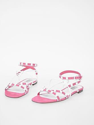 35 Rockstud 5 Garavani Studded Size Sandals Suede Valentino GqSpULzMV