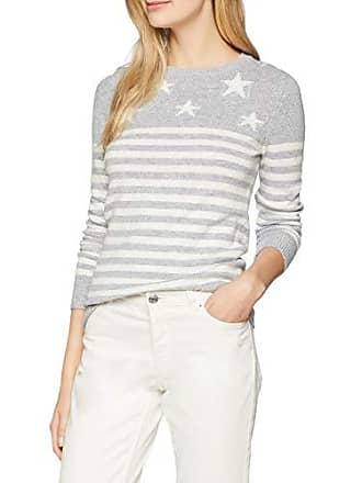 Breton greywhite Para Jersey Crew Clothing Star 1160497 42 Jumper Mujer Gris Rxpap4