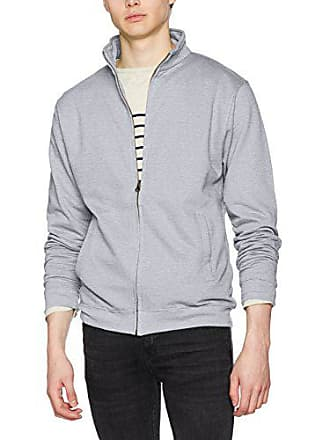 heather Zip Homme Full Fresher Hgr Grey Shirt Sweat Awdis Gris wp0Cqf7