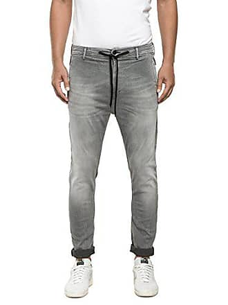 grey W36 Jogging Para Hyperfree Gris Replay 009 Hombre Vaqueros Denim 1ZF1T