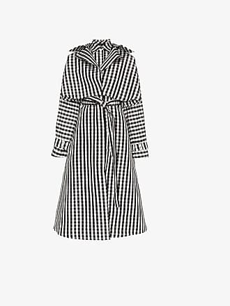 Dress Gingham Belted Paskal Silk Coat HRnvx7qIaw