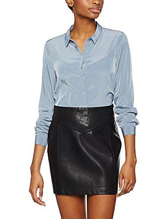 Fabricant Ls Stone Chemise Shirt 38 taille flint Bleu Ff Medium Femme Pcanna Pieces PZxg5qwTq