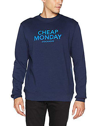 Sweat new Monday Doodle Shirt Logo Homme Bleu Blue Worth Cheap 151 f1qw6RxS6