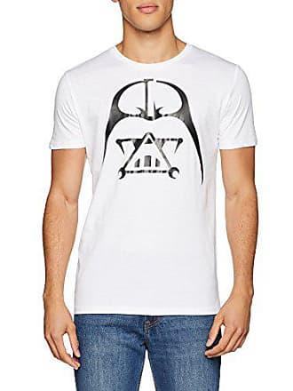 Homme Blanc 0 Medium Alvarno blanco Geométrico T Shirt Dv x0xqwZAI