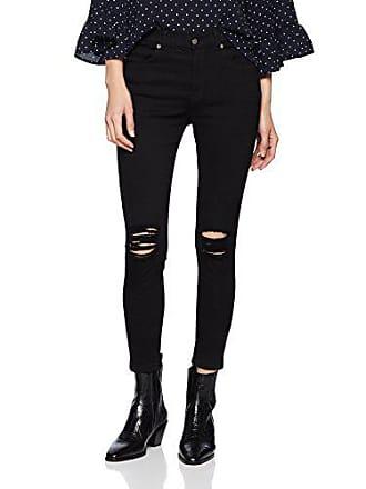 Ripped Dr Skinny Femme A03 Lexy Denim l33 Noir W27 Jean black Knees gg70Zw