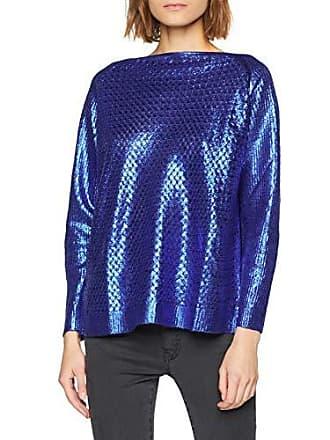 Femme Cina Manches Cfm0008851003 Fabricant 36 B055 Longues Rinascimento Bleu À Top taille m S blu XtWw8