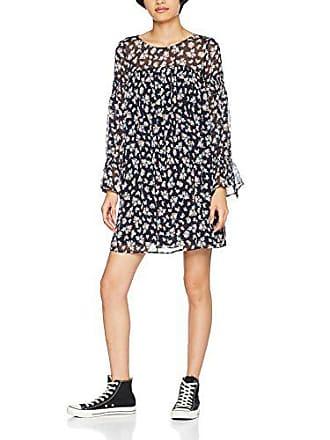 Para Medium dress Sleeve Printed 25712 Blau Mujer Long Vestido Blue Mavi qwYxRtvC
