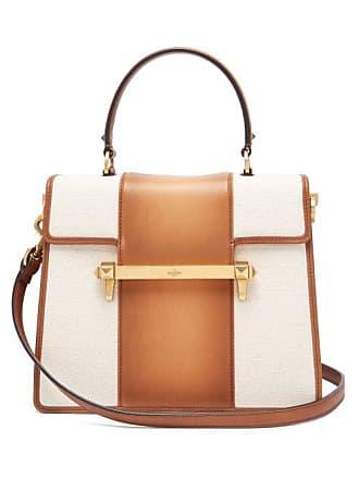 Uptown Handle Leather BagWomens Top Multi Tan Valentino 5Ac34LjSRq