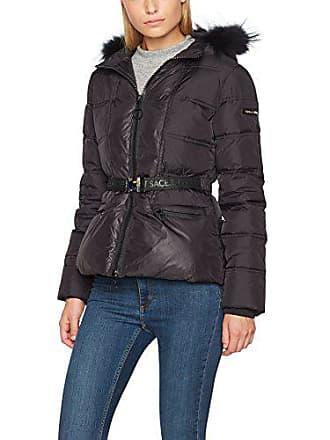 Jeans 38 Manteau Versace E899 nero Ee5hqb957 Femme Noir 6x0fTfqwd