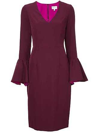 Milly Milly sleeved Dress Wide Dress sleeved Rose Rose Wide qwxItx