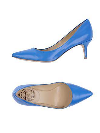 Escarpins En Bleu Cuir −60 Stylight Jusqu'à Achetez BBWnrxw61
