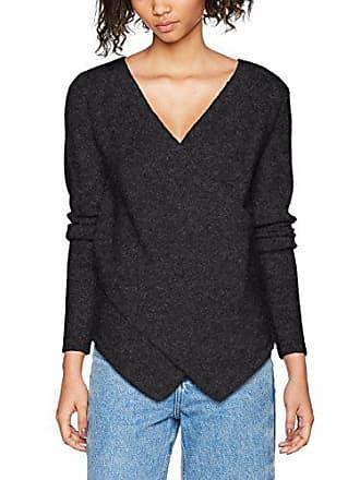 Melange Para Small Vicant Fabricante noos Mujer dark Top Wrap Grey Vila Knit Clothes Gris Del 36 Suéter talla w1xg0TT7q