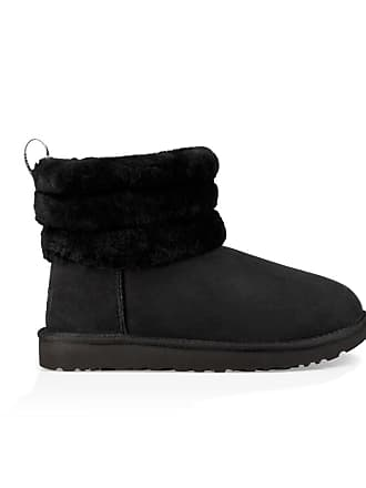 Quilted Noir Ugg Fluff Boots Mini 0n40qBcTF