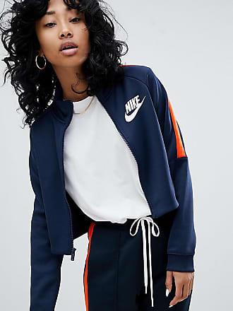 Veste En Et Orange N98 Bleu Nike Maille Polyester De Survêtement xRBnw4I