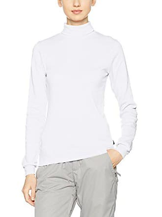 X Taille Trigema Blanc Normale Femme Roulé Pull Longues Manches Col awqSzUw5