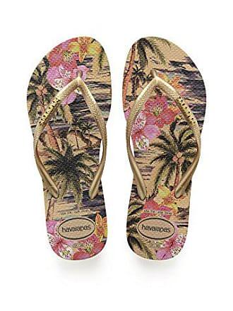 Eu 38 40 Slim Beige 39 Femme Br ivory Tongs Havaianas Tropical 37 vwnZq881