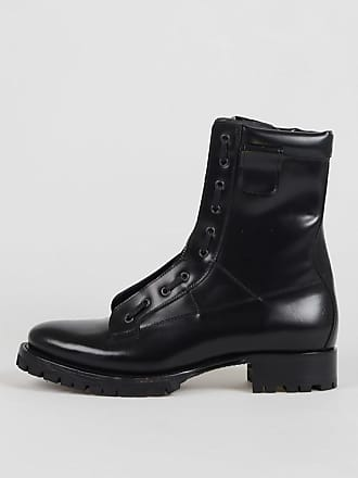 Boots 46 Asylum Combat Leather Size Dsquared2 EDH2IWY9