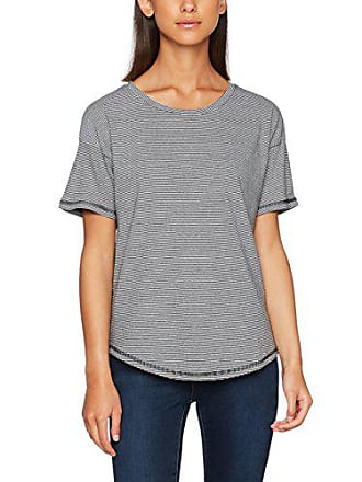 T shirt white Warehouse Casual Stripe 36 Femme black Multicoloured tEEFqwR