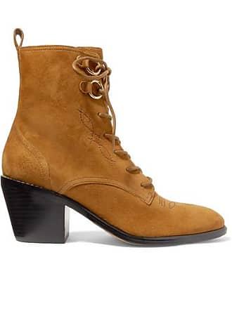 Mit Veloursleder Diane Ankle Aus Boots Dakota Schnürung Fürstenberg Sand Von YYpqw0T6
