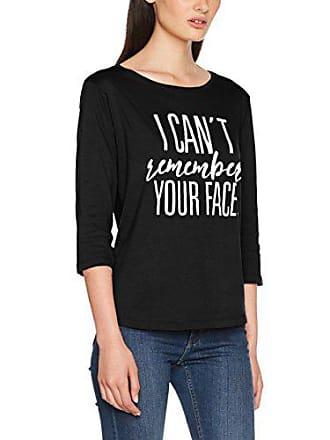 negro shirt S 01 4sfc13 Inside T Femme Noir AwzfqW