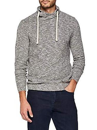 Optik Sweatpullover Tailor Shirt In Stehkragen Homme Tom Gris Mir Mellierter Sweat Hpn6YYx