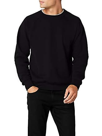 Classic Medium Raglan Of Noir black shirt Sweat Fruit The Homme Loom wvTInnqRtO