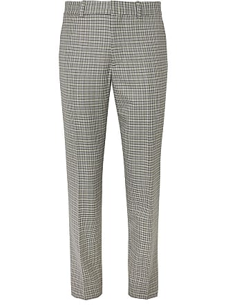 Bone And Wool Cotton TrousersGray Checked blend Ragamp; Patrick TJ1lFuKc35
