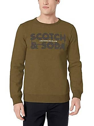 Homme Soda In Scotch Blauw Graphic Fit amp; Ams Regular Sweat Shirt And O5CqPCw6x