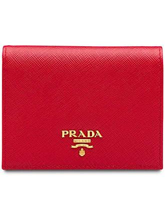 Rot portemonnaie Saffiano Prada Kleines Prada Kleines xIgp7Xq