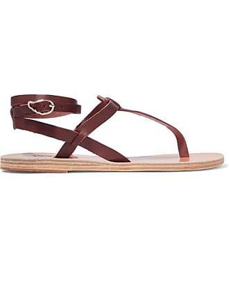 Estia Marron Cuir Ancient Sandales En Greek Sandals Xnqw0wYI