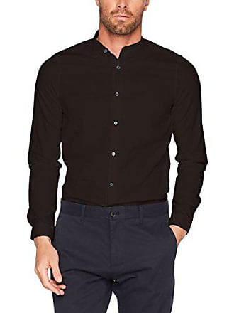 black Olive Hombre Up Para Shirt Oxf Verde Nowadays 45 Casual Camisa Stand Collar 733 S0vxPq