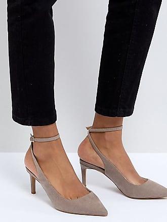 Mi À Large hauts Asos Beige Chaussures Sabrina Talons Pointure BnnxzIY