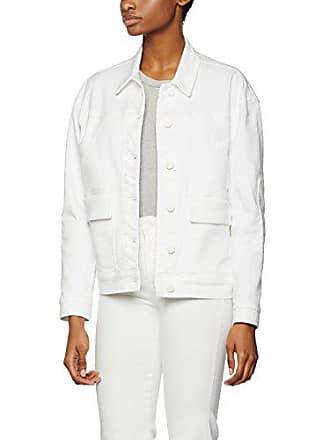Deni Jacket white Blanc 40 K Vestes Denim Filippa Oversized Femme q8ft0Pc