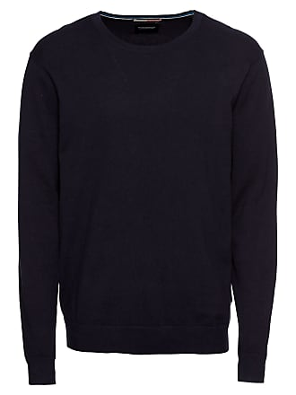Pullover Cashmere In Regular amp; Blauw Soda Ams Knit Fit Scotch Cotton Dunkelblau YEq4x