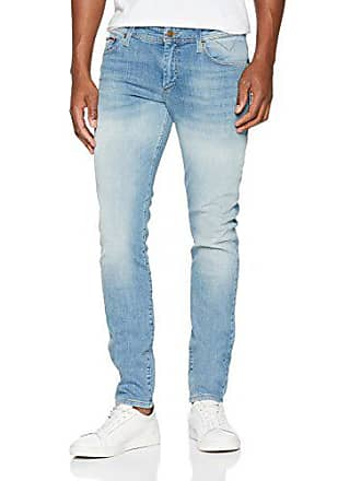 W33 Jeanshose Tommy Light Herren Stretch springfield Simon Skinny Blue Jeans 911 l30 Blau SgSxP