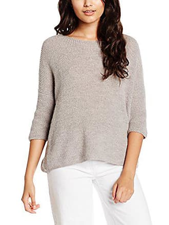 Soaked Damen MelangeM In Luxury Graulight Jumper Grey Tuesday Pullover 6vmY7Ibyfg