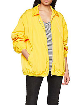 706 Tommy Jeans Coach Small Chaqueta Larga Manga dandelion Mujer Amarillo S86SxC