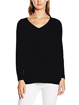 Para black Xxl Negro Mujer talla Larga V Del Camiseta Ls Ichi De Manga Fabricante Jasmin Solid 46 Cxq0RUfw