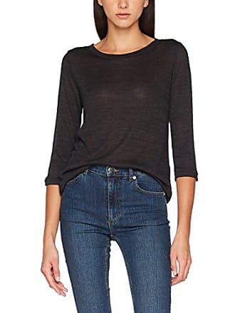 Schwarz By Large Femme Longues Manches T Q black Designed 99w0 s 45899390459 shirt Melange xqwEq8zOH