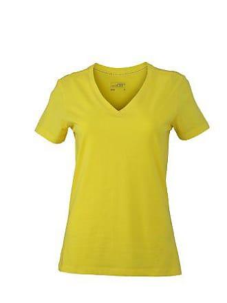Cuello Camisetas Pico 4 39 Amarillo Desde Compra Awfqx1zw